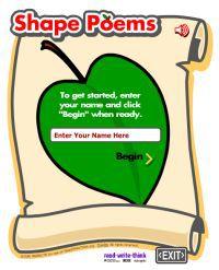 shape-poems