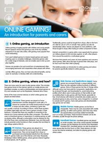 e-safety-gaming